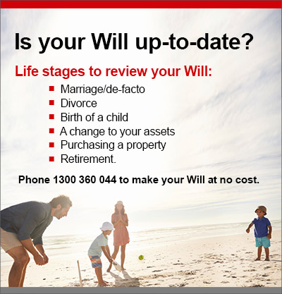 Will making advertisement - Is your will up to date